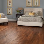 Chalmette Engineered Floors match solid Chatelaine floors in color (walnut shown)