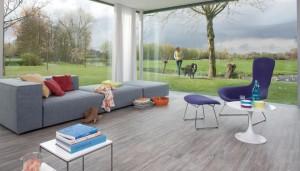 Moduleo Tectona Teak Luxury Vinyl Plank Floor