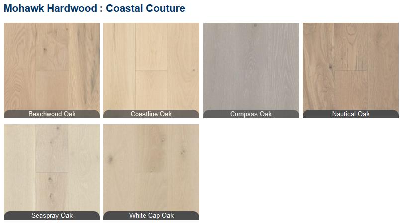 Mohawk Coastal Couture Hardwood Floors On Engineered