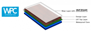Earthwerks WPC waterproof vinyl plank flooring